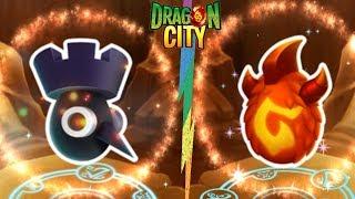 Trứng Rồng Chim Gõ Kiến Và Găng Tay Lửa| Dragon City Game Nông Trại Mobile Android, Ios