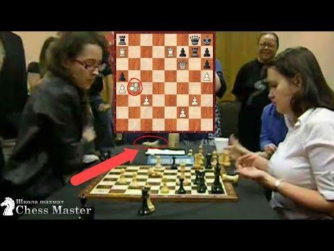 Чемпионка США МЕТНУЛА Короля! Эмоциональные женские шахматы