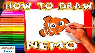 How to Draw Nemo From Disney