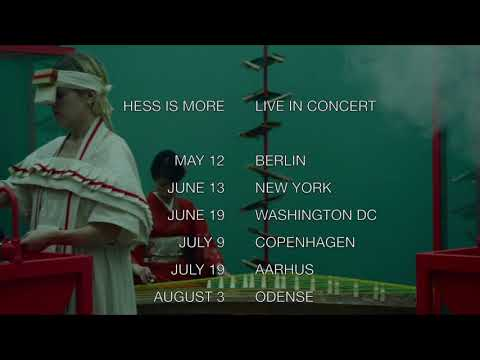 HESS IS MORE : LIVE IN CONCERT : SUMMER 2018
