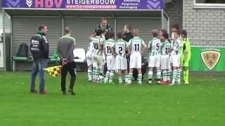 07-11-2015 ; VV Kloetinge D1 - VV Steenbergen ; tweede helft (wordt gestaakt)