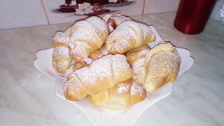 Рогалики. Ідеальне тісто для випічки. Простий і смачний рецепт