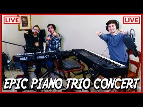 EPIC Piano Trio Live Concert!!