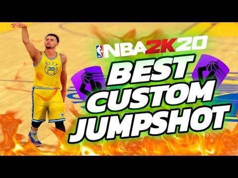 NBA 2K20 BEST CUSTOM JUMPSHOT! Park,Pro-Am,Rec Center - NBA 2K20 Best Jumpshot