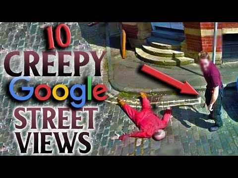Top 10 CREEPIEST Images Ever Found on Google Maps   SCARED SH*TTLESS #4
