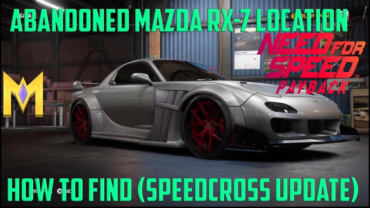 802233b1323 NFS Payback Abandoned Car Location - NEW
