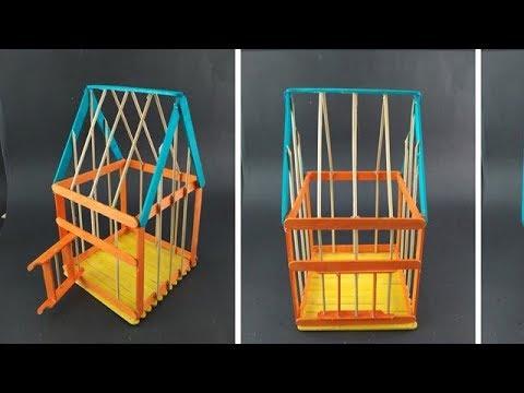 How to Make Bird Cage / Bird House