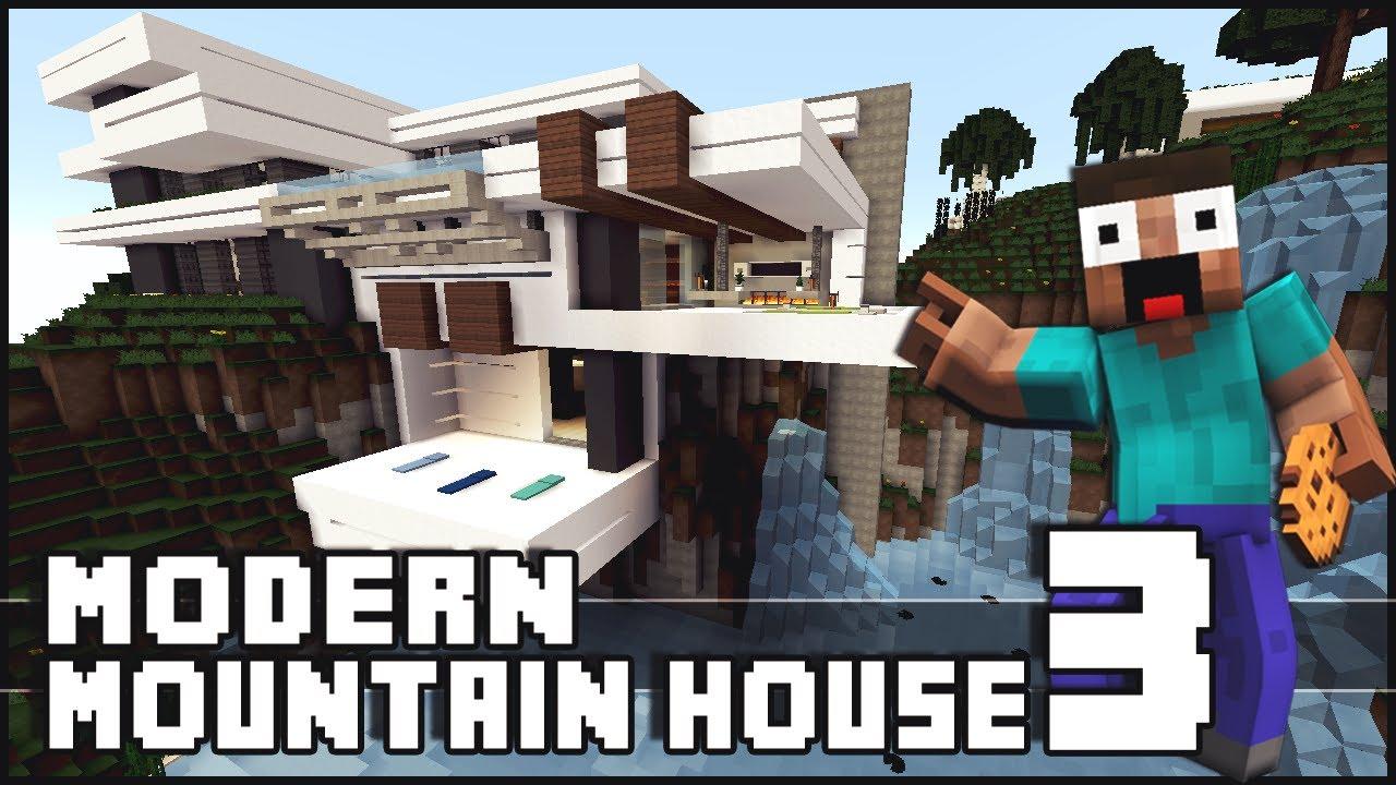 Minecraft Modern Mountain House 3 YouTube