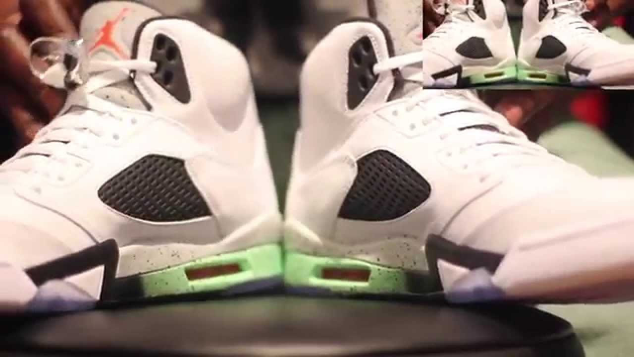 949202f187c Air Jordan 5 Pro Star Aka Poison Green Authentic Unboxing   Review + On Foot!!!  - YouTube