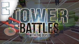 ROBLOX Tower Battles with the bois (Feat. Will & Jed)