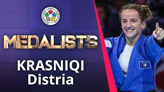 KRASNIQI Distria Bronze medal World Judo Championships Tokyo 2019