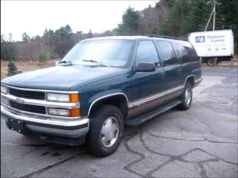 1997 Chevrolet Suburban Lt Start Up, Engine & Review - YouTube