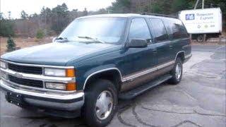 1997 Chevrolet Suburban Lt Start Up, Engine & Review
