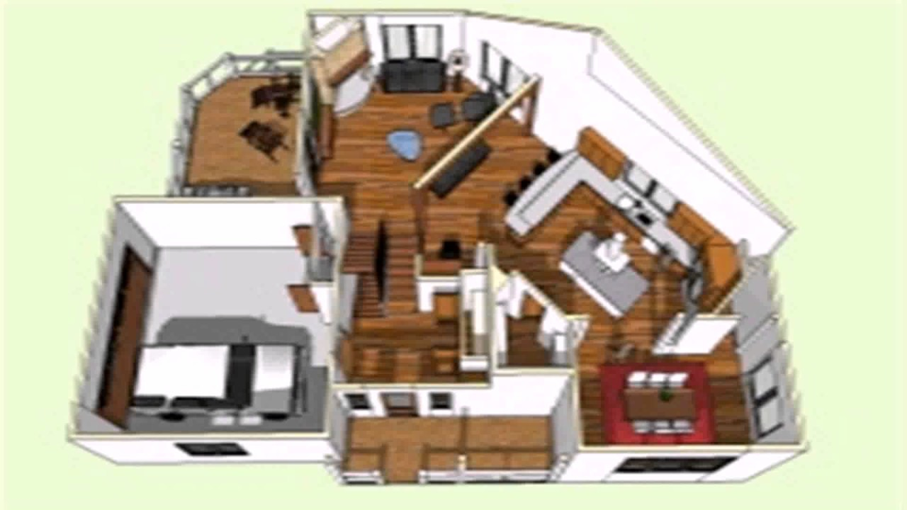 Floor plans in sketchup youtube for How to design a floor plan in sketchup