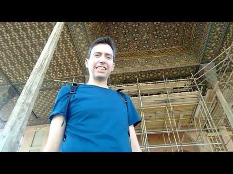 Ali Qapu Palace in Isfahan, Iran