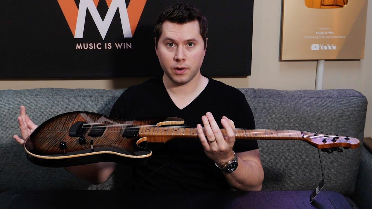 A Very Sharp Guitar Ebmm Sabre Youtube