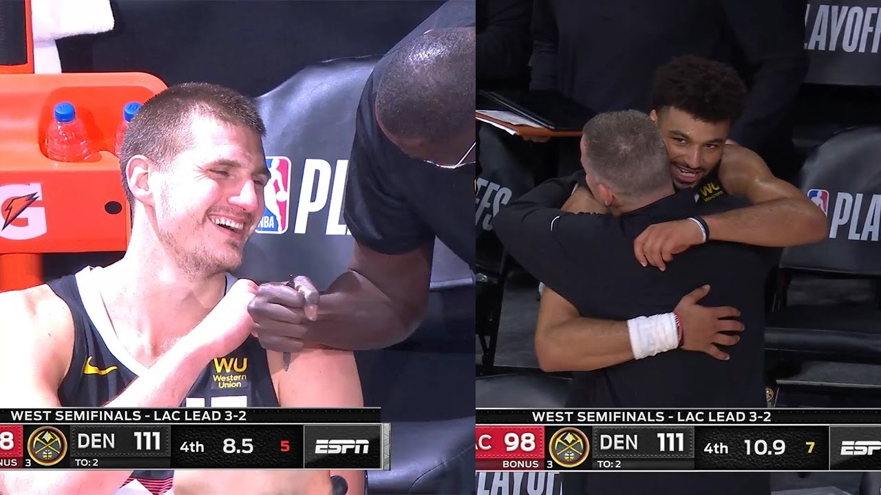 Nikola Jokic Is Happy After Another Epic Comeback Win vs. the Clippers