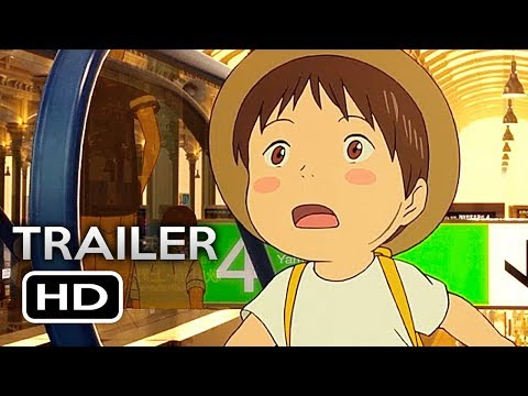 MIRAI NO MIRAI Official US Release Trailer (2018) English Sub Anime Movie HD