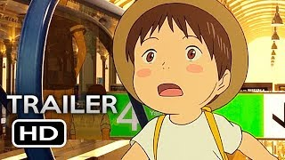 MIRAI NO MIRAI Official US Release Trailer (2018) English Sub Anime Movie HD