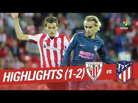 Resumen de Athletic Club vs Atlético de Madrid (1-2)