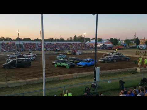 2017 Eastern michigan State fair in imlay city, michigan. Round 5, front wheel drive class