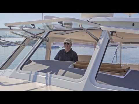 MJM Yachts Power Opening Windows