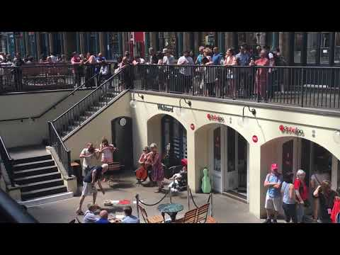 2017 London Covent garden street music
