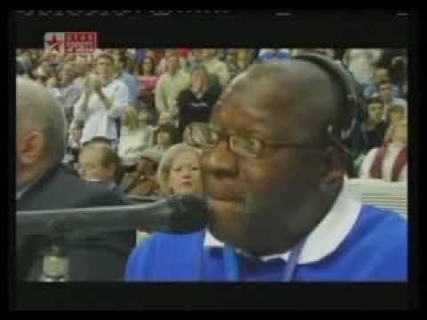Detroit Pistons PA Announcer - John Mason