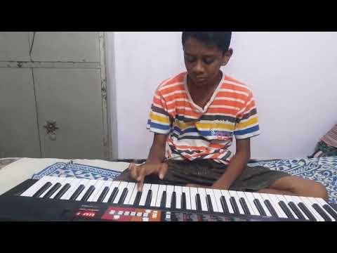 Adiga adiga piano tutorial by vivek