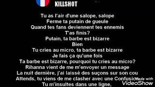 eminem repond a mgk traduction en français