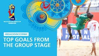 Top Goals From The Group Stage FIFA Beach Soccer World Cup Paraguay 2019