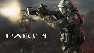 HALO 3: ODST Walkthrough Gameplay Part 4 - REMASTERED HALO MCC - MICKEY (60fps)