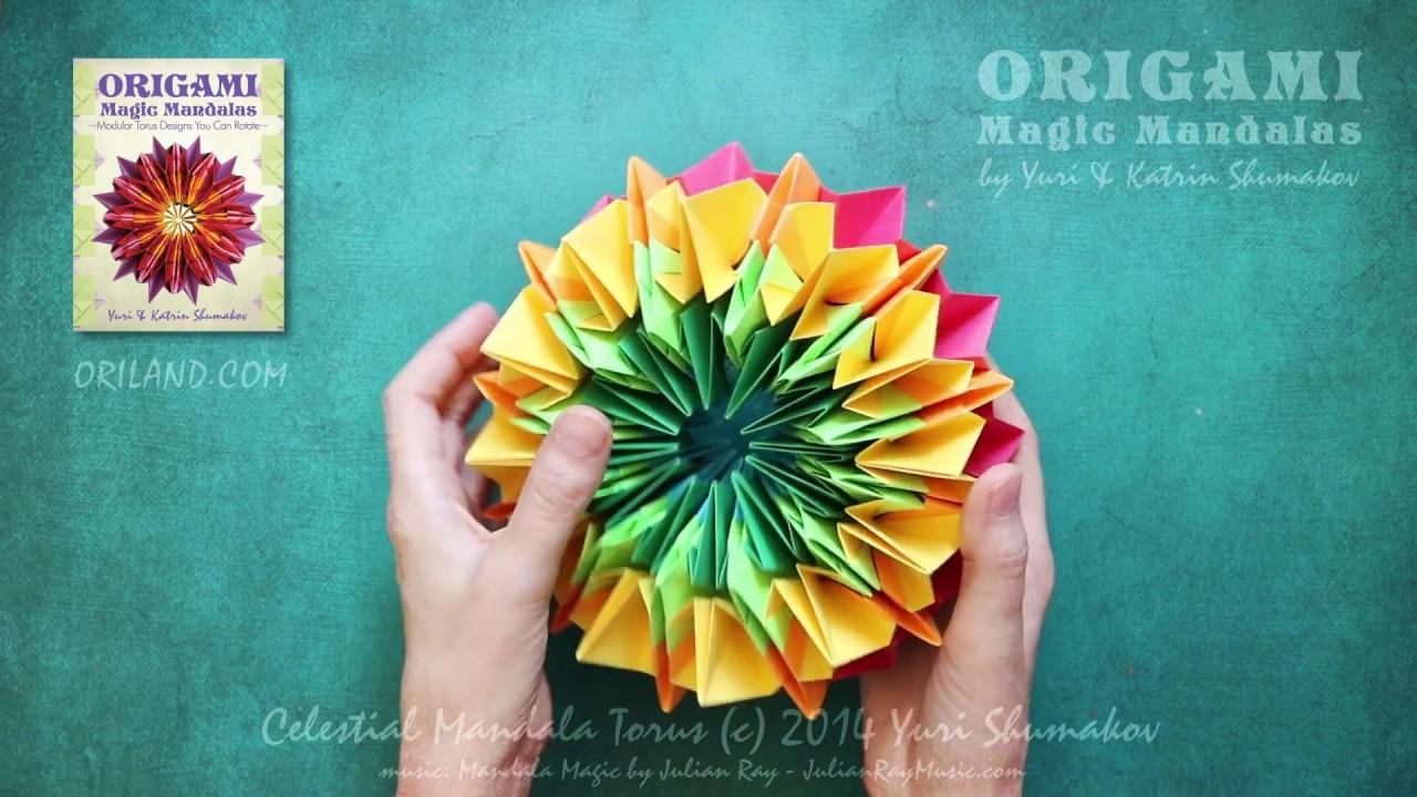 Geometric Origami Modular Polyhedra | 720x1280