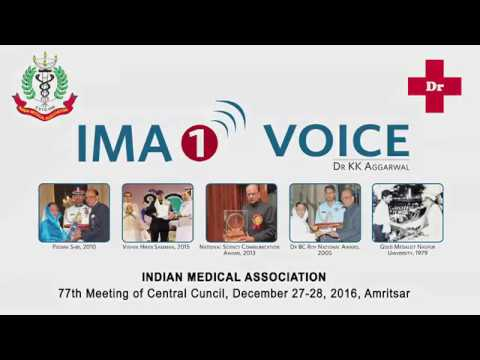 Presidential Speech Dr KK Aggarwal, National President IMA