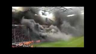 FC KÖLN ULTRAS Black Smoke Bombs (FC Köln Supporters, Wilde Horde, Coloniacs, Boyz Köln)