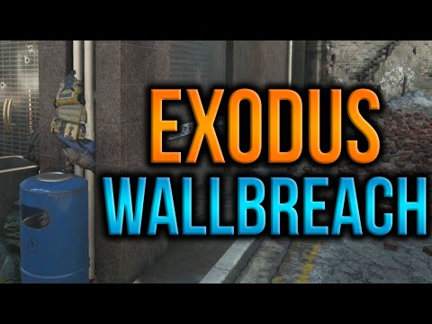 Call Of Duty Black Ops 3 - New Exodus Wallbreach Glitch XB1/PS4