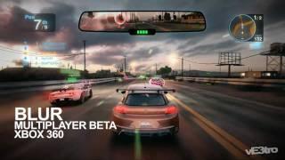 BLUR - Xbox 360 Beta Gameplay : Volkswagen Scirocco #2 (HD 1080p)