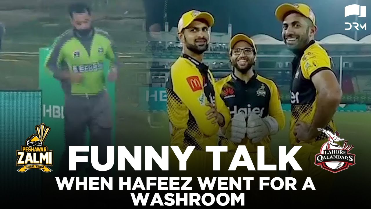 Download What Players Did When Hafeez Went For A Washroom Break   Match 32   HBL PSL 2020   MB2E