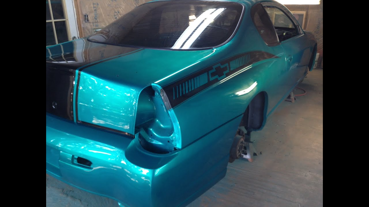 Update 9 2000 Monte Carlo Ss Candy Teal Painting Car