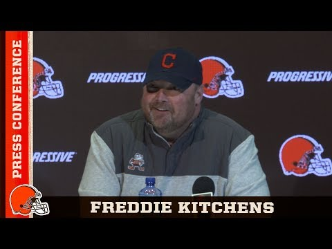 Freddie Kitchens: The better players you have, the better coach you can be | Cleveland Browns