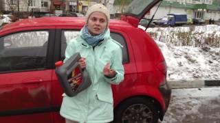 Видео отзыв владельца Hyundai Getz о масле Hyundai XTeer