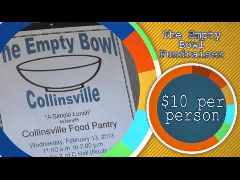 The Empty Bowl Fundraiser Collinsville Illinois March 5 2014