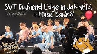 Video Seventeen Diamond Edge & Music Bank in Jakarta!! (EXO, NCT 127, GFRIEND, B.A.P, ASTRO) [ VLOG ] download MP3, 3GP, MP4, WEBM, AVI, FLV Desember 2017