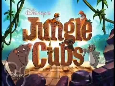Мультфильм дети джунглей