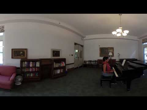 Victoria College residence, Annesley Hall, Music Room