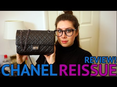 5d93042850b44a CHANEL 2.55 FLAP BAG REVIEW! Chanel Reissue Pros/Cons - YouTube