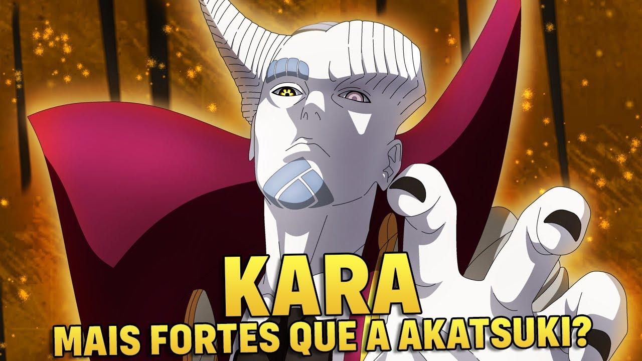 BORUTO: NÍVEIS DE PODER DE TODOS OS MEMBROS DA KARA (MAIS FORTES QUE A AKATSUKI?) | Player Solo