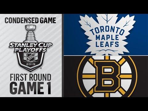 04/11/19 First Round, Gm1: Maple Leafs @ Bruins