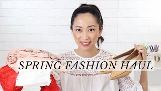 Spring 2017 Fashion Haul ft. H&M, Bloomingdales, and Lulus, spring 2017 fashion haul, spring trends