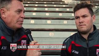 Rd 17 Interview with Kell O'Brien & Greg Florimo